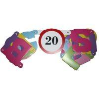 Boldog 20. születésnapot ! betűfüzér