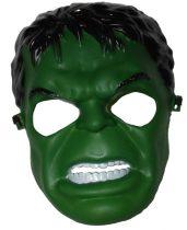 Hulk álarc, műanyag