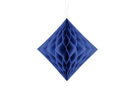 gyémánt papír lampion 20 cm,skék-074