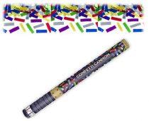 konfetti ágyú színes konfettivel (60 cm)