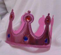 korona tépőzáras, rózsaszín