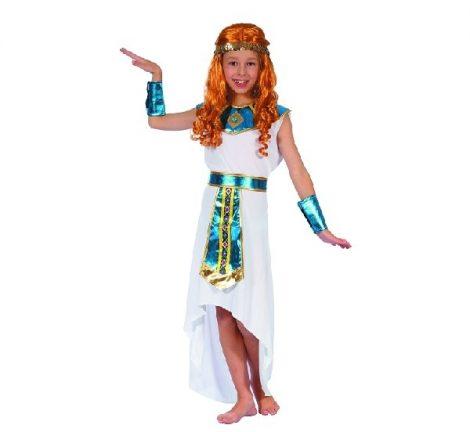 Egyiptomi , Kleopátra jelmez, fehér (120-130 méret)