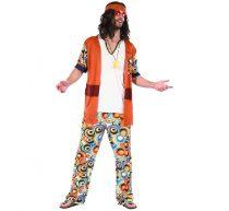 Hippie férfi jelmez (SL-HPUN)