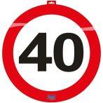 közlekedési tábla 40. (48 cm) - 06140