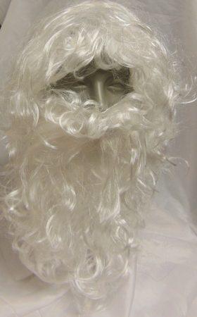 Mikulás paróka + szakál (R.)