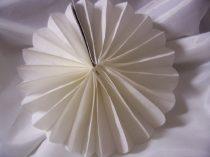fehér papírtárcsa 50 cm