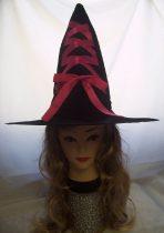 boszi kalap plüss, pink szatén szalaggal