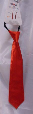 piros, selyem nyakkendő
