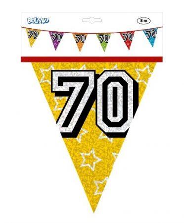 zászlógirland 70. (8 m) -30070