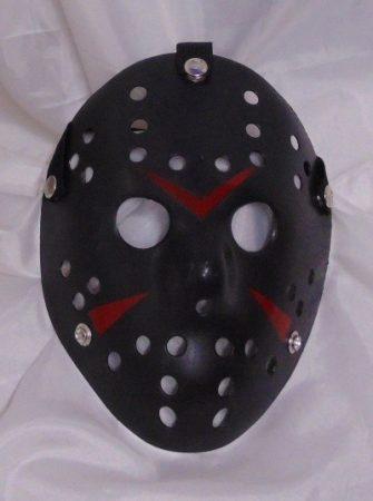 Jason maszk fekete (Péntek 13)