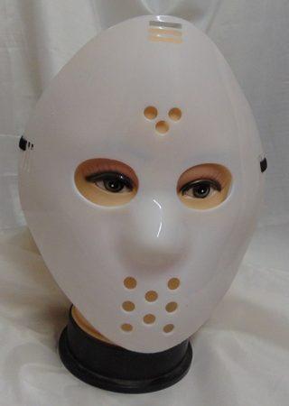 Jason maszk fehér (Péntek 13)