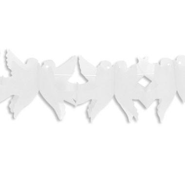 galamb girland fehér (4 m)