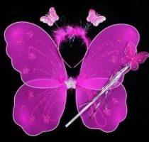 pillangó szett 3 részes (48*40 cm) pink