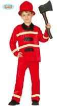 tűzoltó jelmez (5-6 éves)-85589