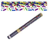 konfetti ágyú színes konfettivel (40 cm)