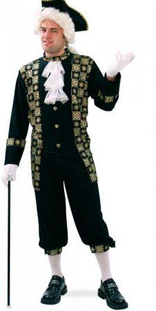 barokk férfi jelmez, 52 méret-29462