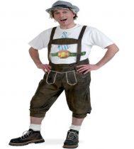 tiroli, bajor bőrhatású nadrág (XL vagy XXL méret)