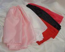 selyem alsószoknya (tüll szoknya alá) több színben