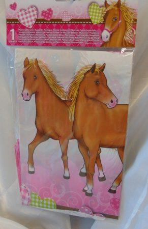 lovas, műanyag asztalterítő (120*180 cm)