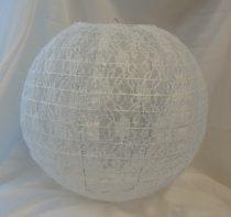 csipke lampion (textil) , 35 cm