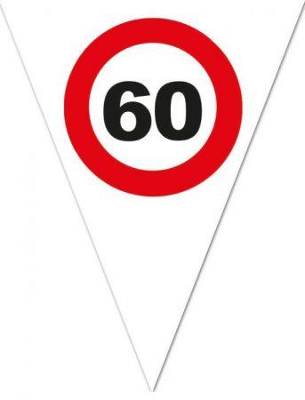zászlógirland 60. közlekedési táblás ( 5 m )