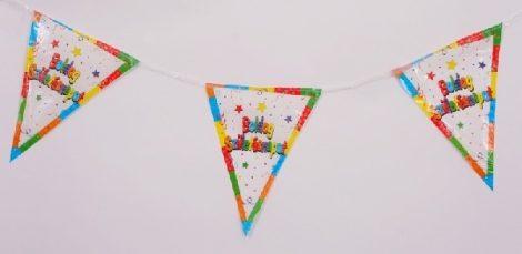 zászlógirland Boldog születésnapot! 6 m