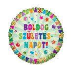 Boldog születésnapot ! fólia lufi (45 cm)-70879