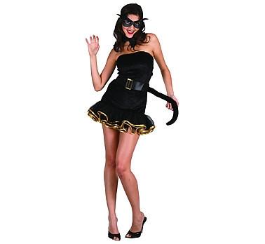 sexy női cica jelmez (36-38 méret)-086944-14532