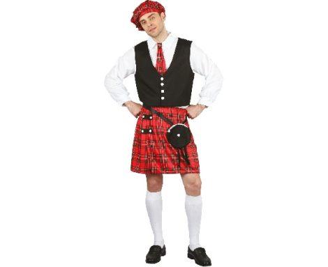 Skót férfi jelmez ( L méret)-SSKEL
