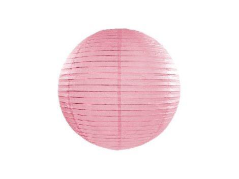 Papír lampion gömb 45 cm, rózsaszín
