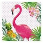 Flamingós szalvéta (16 db)