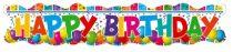 Happy Birthday óriás felirat (132 x 24 cm)