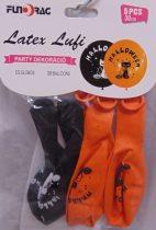 Halloween lufi macskás, 5 db-607574