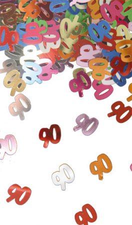 90. évszámos konfetti (14 gr.)