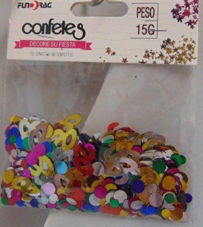 20. évszámos konfetti (15 gr.)