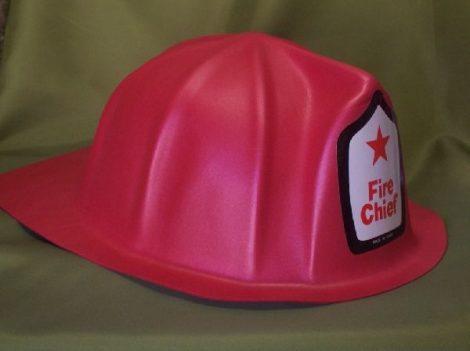 Tűzoltó kalap polyfoam-E-52077(gyerek méret)
