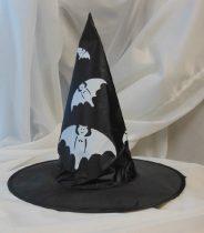 Boszi kalap, denevér mintával (M)