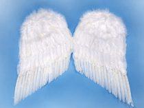 Fehér toll angyalszárny (55*45 cm)-SK7