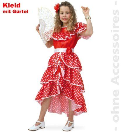 Spanyol lány jelmez , 128 méret-100686