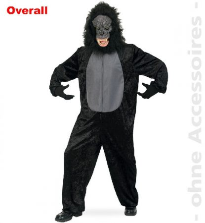 Gorilla jelmez ( L méret)-10905