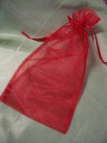 organza tasak 14*17 cm, piros-215753 (4 db)