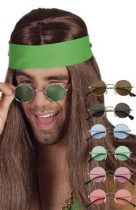 Lennon, hippie szemüveg több színben