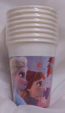Jégvarázs műanyag pohár,2 dl-s (8 db)