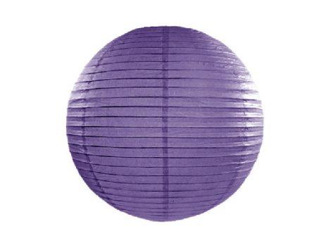 Papír lampion gömb 45 cm, lila
