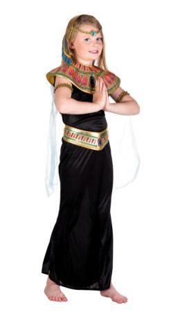 Egyiptomi Kleopátra gyerek farsangi jelmez (4-6 éves ) - 82121