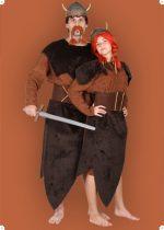 Viking női jelmez, 48 méret