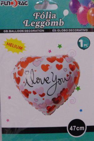 fólia lufi I love You !-47 cm-s (610720)