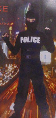 Kommandós rendőr jelmez