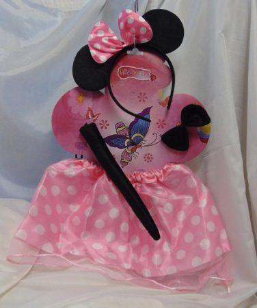 Minnie egér szett 4 részes (rózsaszín)