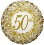 fólia lufi 50. házassági évfordulóra (45 cm)